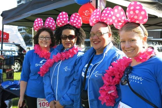 Ladies from Breastscreen Aotearoa