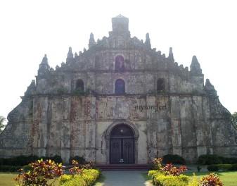Paoay Church Facade