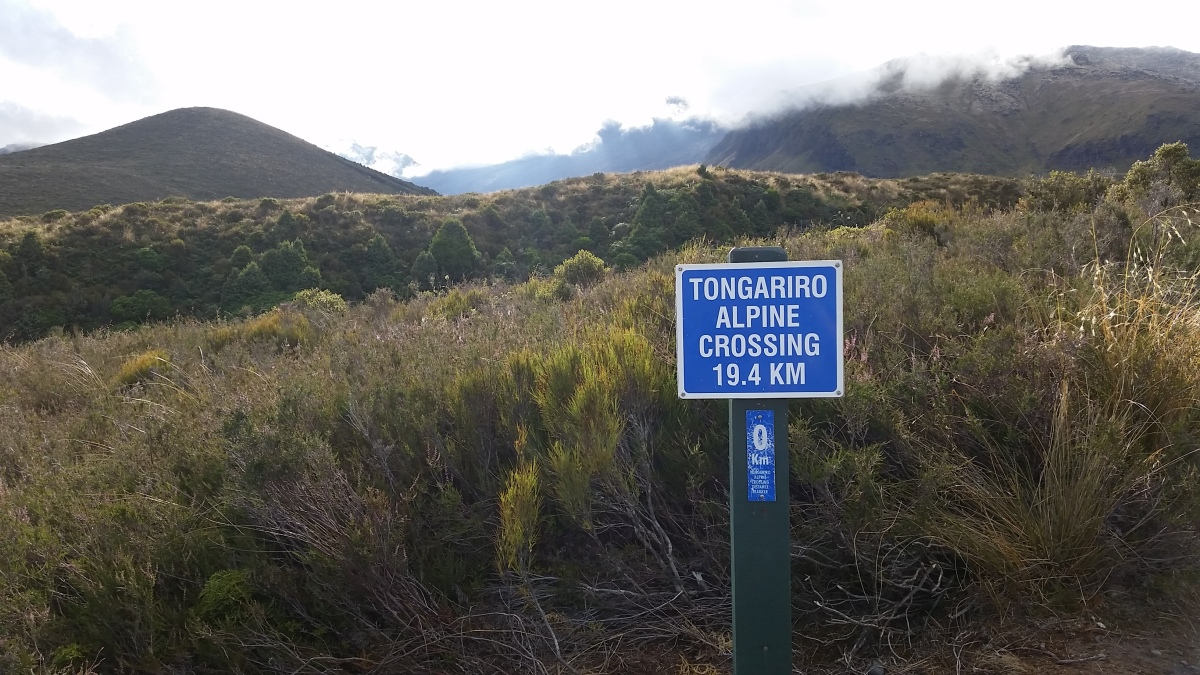 Traipsing on the Tongariro