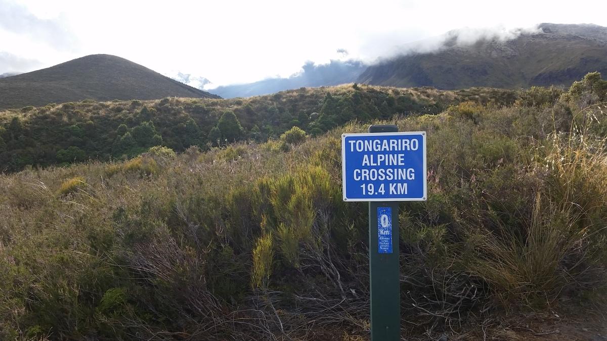 Traipsing on theTongariro