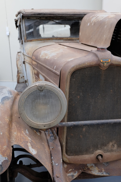 A really old car