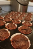 VOILA! Chocolate-Banana Muffins!