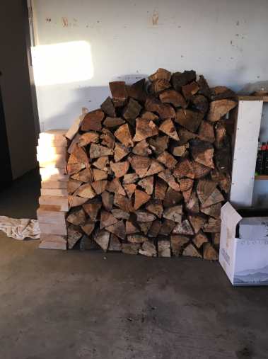 Old Firewood - we use these first