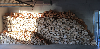 VOILA! Wood for 3 winters!